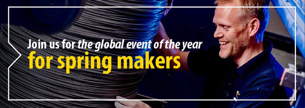 Join us for the global event of the year for spring makers