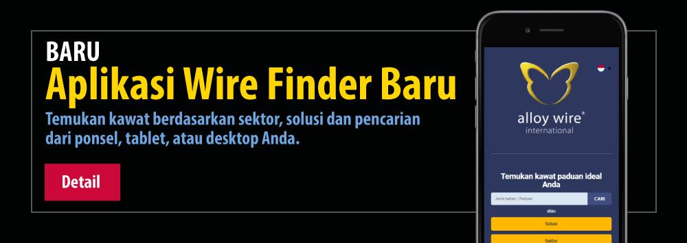 Baru aplikasi wire finder baru